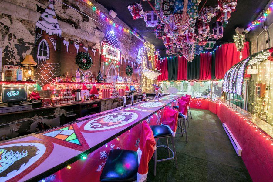 tinsel christmas holiday bar philadelphia