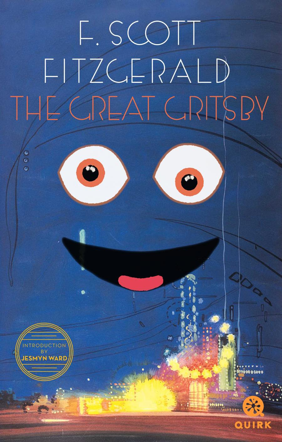 Gritty book cover