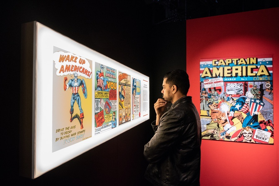 Franklin Institute Marvel exhibit