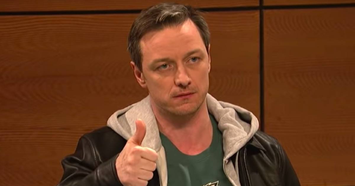 The James McAvoy Philly Accent on SNL Is Actually Pretty Good
