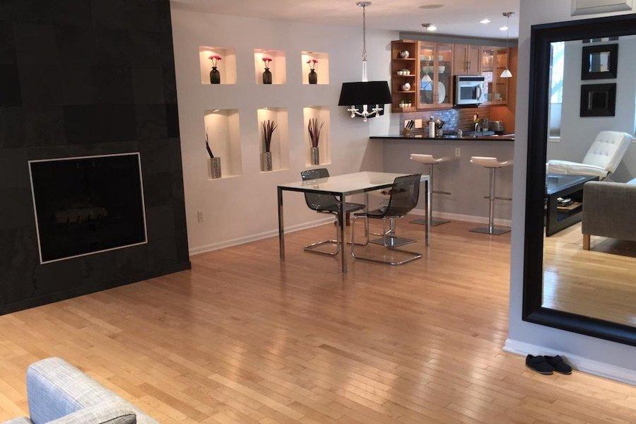 apartment for rent logan square bilevel condo