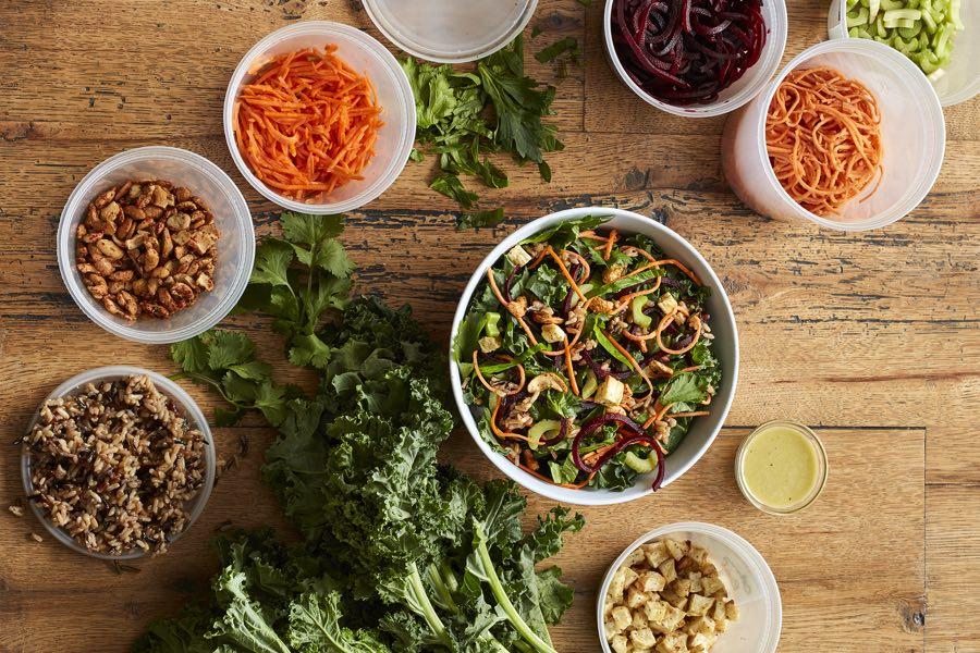 honeygrow test kitchen fishtown salad beddia