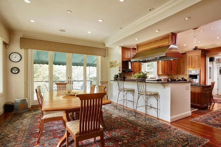 house for sale gladwyne contemporary breakfast room