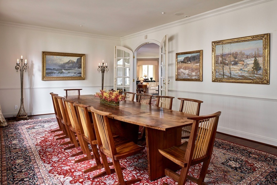house for sale gladwyne contemporary dining room