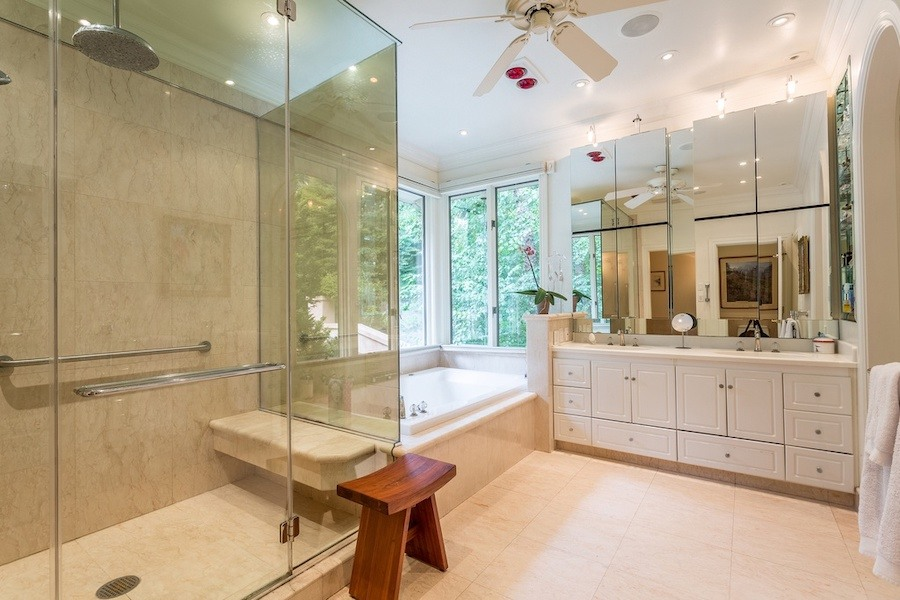 house for sale gladwyne contemporary master bathroom