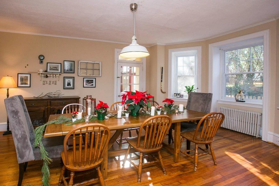 house for sale mt. airy large tudor dining room