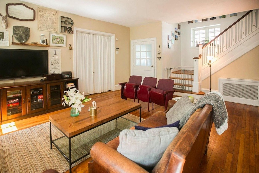 house for sale mt. airy large tudor living room