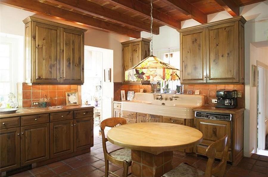 house for sale ottsville horse farm kitchen