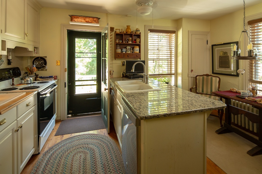 house for sale solebury historic post office kitchen