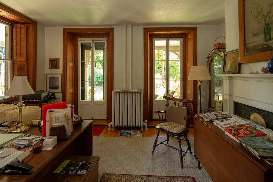 house for sale solebury historic post office study