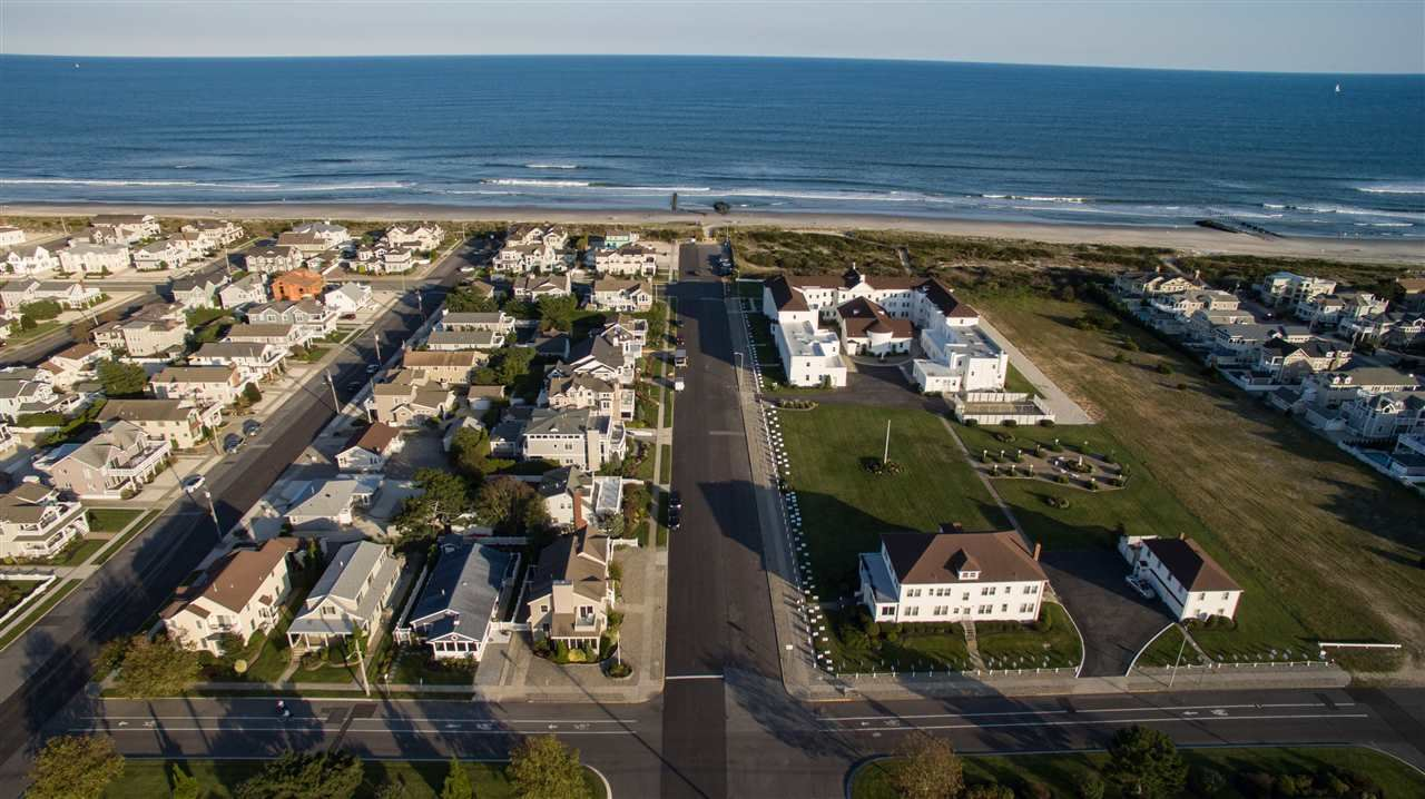 house for sale stone harbor beachfront cottage aerial view down 111th street
