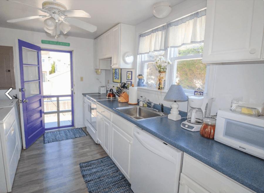 house for sale stone harbor beachfront cottage kitchen