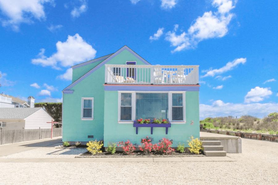 house for sale stone harbor beachfront cottage street elevation