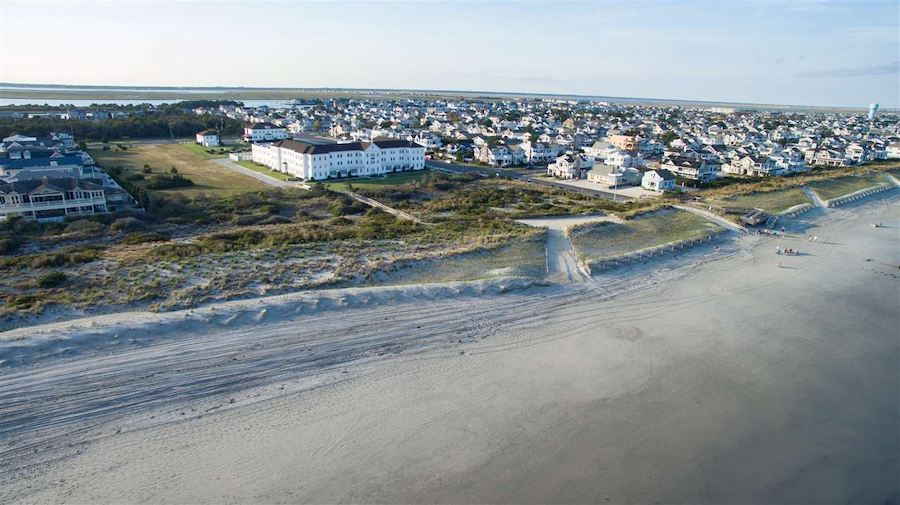 house for sale stone harbor beachfront cottage convent, grounds and dunes