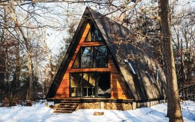 Lokal A-Frame cabin