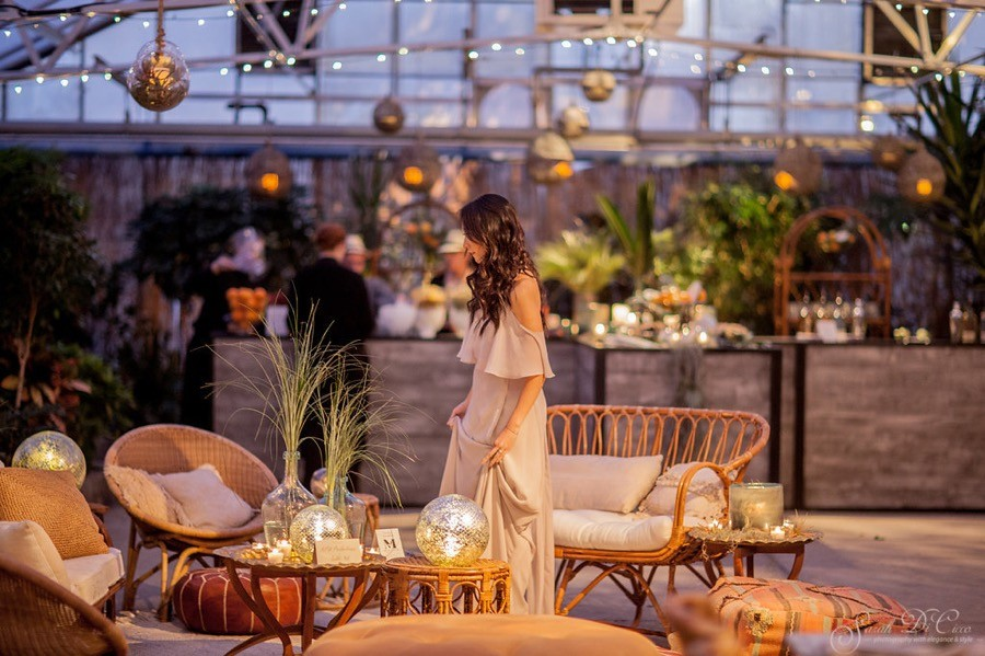 love is in the air bridal event