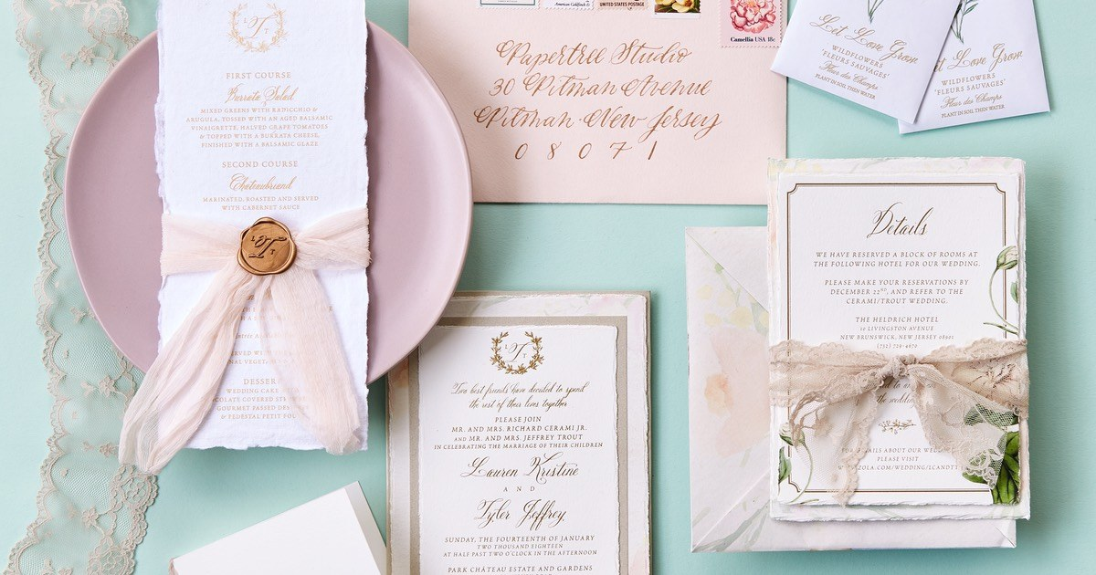 Best Philly Wedding Invitation Designers And Calligraphers And