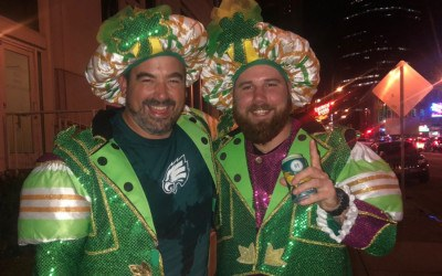 philly parade costume jason kelce