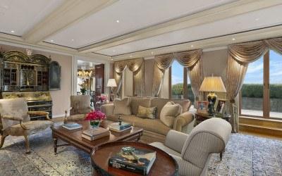 sidney kimmel condo living room