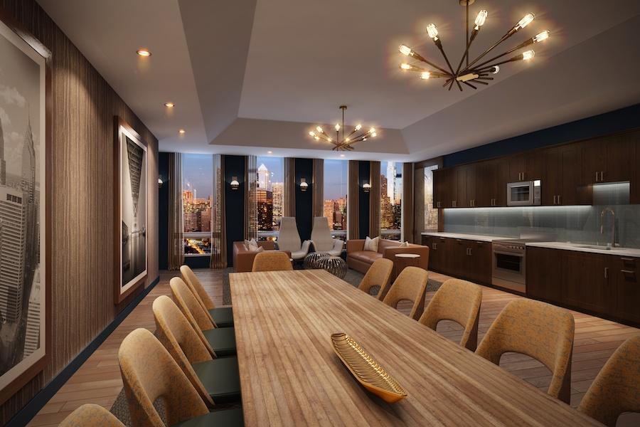 the harper board room