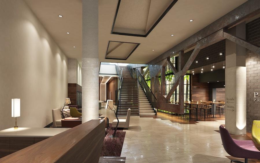 the harper lobby