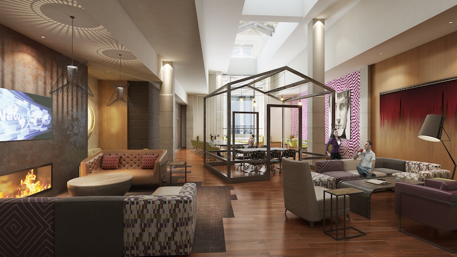 the harper penthouse lounge