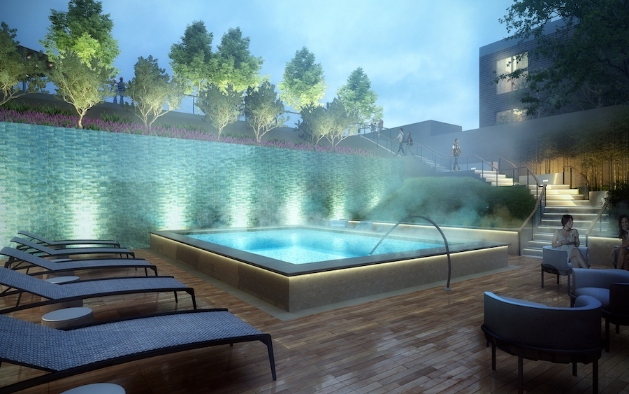 the harper swimming pool