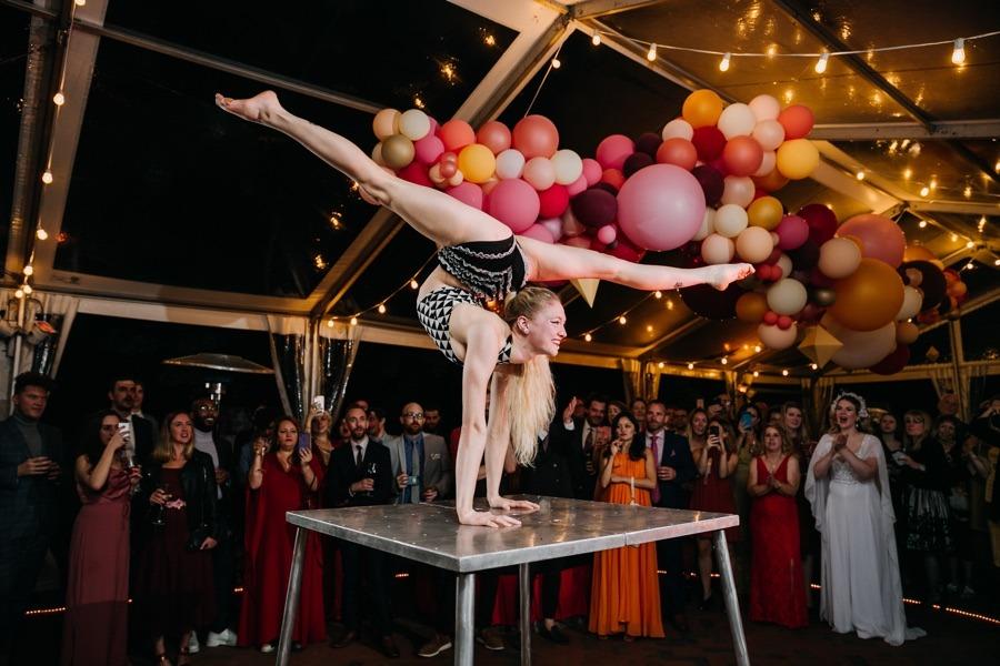 philadelphia circus school performer