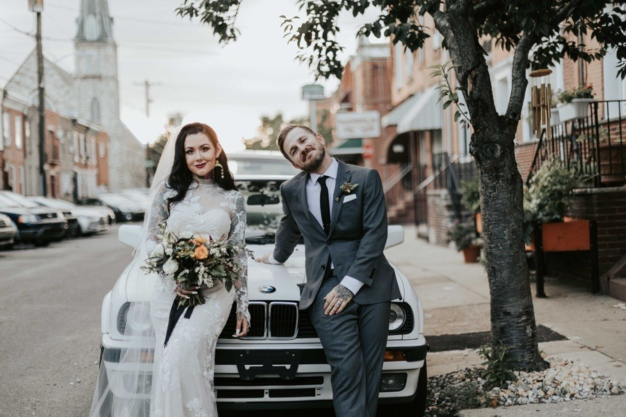 south philly wedding pictures
