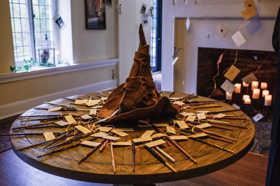 sorting hat harry potter wedding ideas