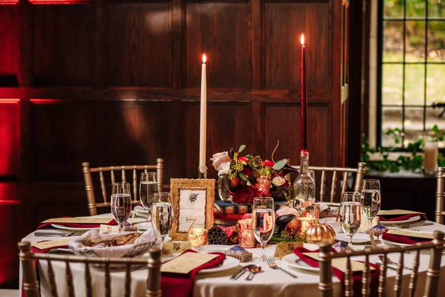 A Harry Potter Wedding Filled With Magical Details