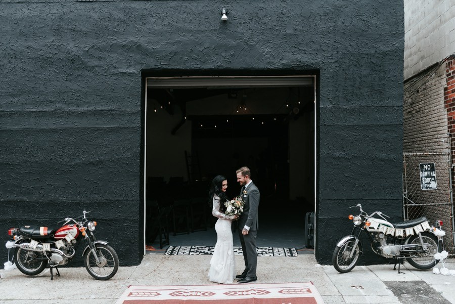 south philly home wedding
