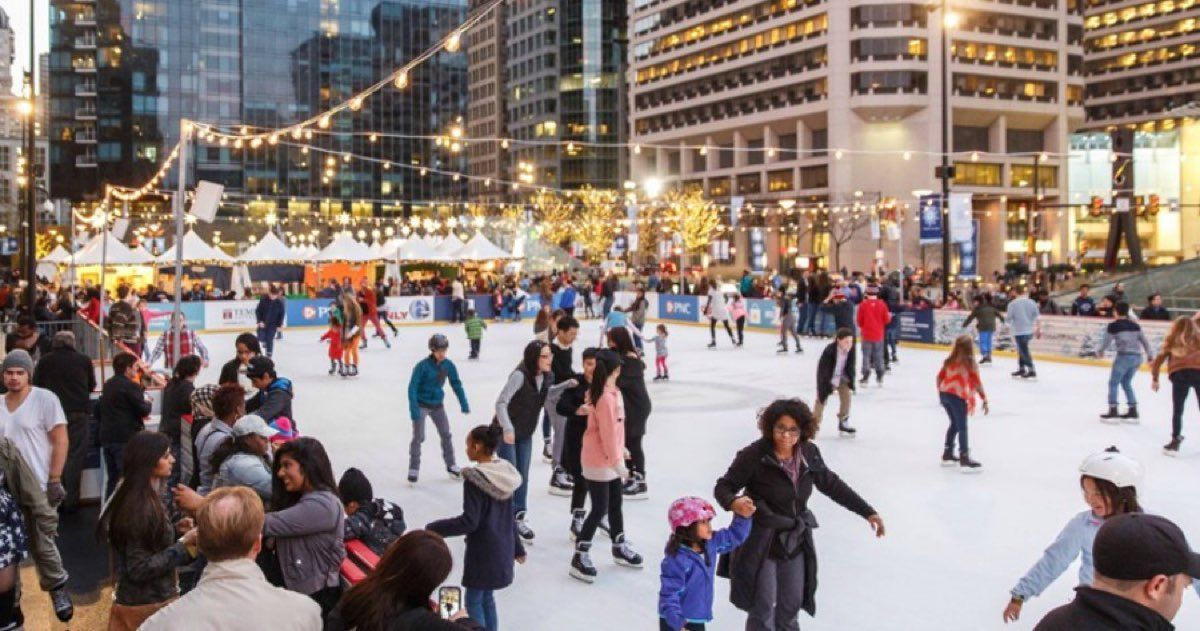 Here S How To Get Tickets For Dilworth Park Free Ice Skating