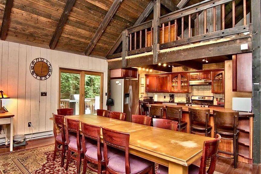 luxe ski cabin