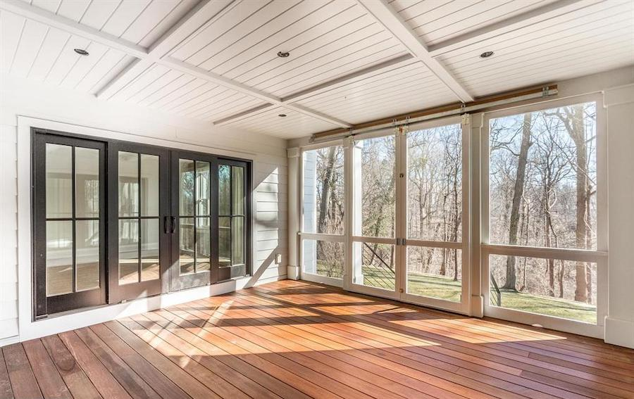 house for sale chestnut hill new farmhouse sun porch