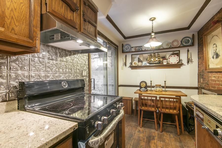 house for sale elfreths alley oldest house kitchen