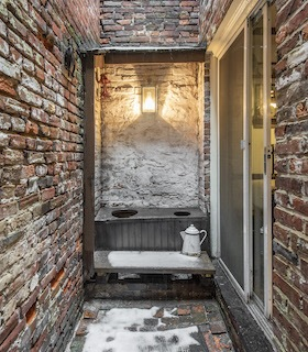 house for sale elfreths alley oldest house side courtyard
