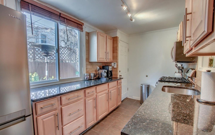 house for sale fairmount rehabbed rowhouse kitchen