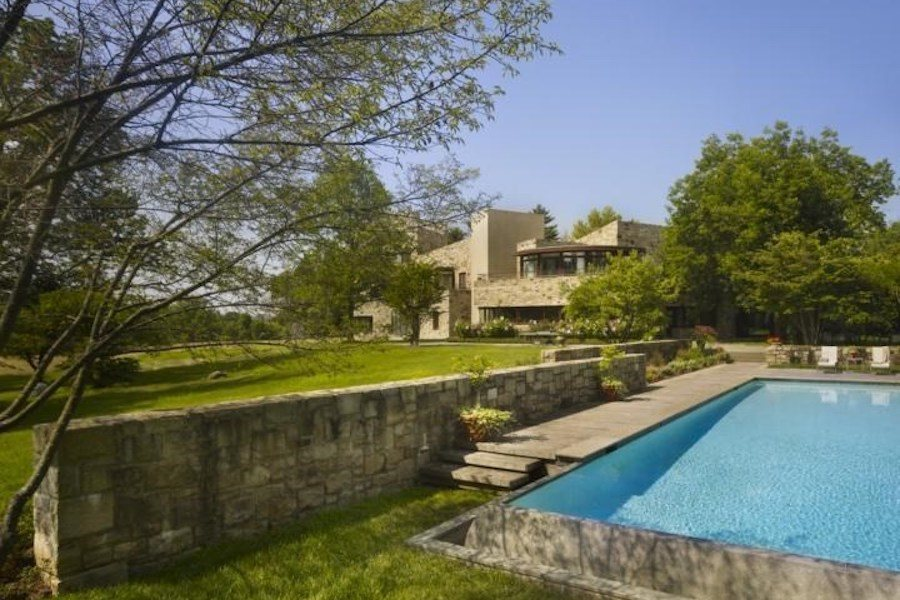 house for sale fort washington alter house view from pool