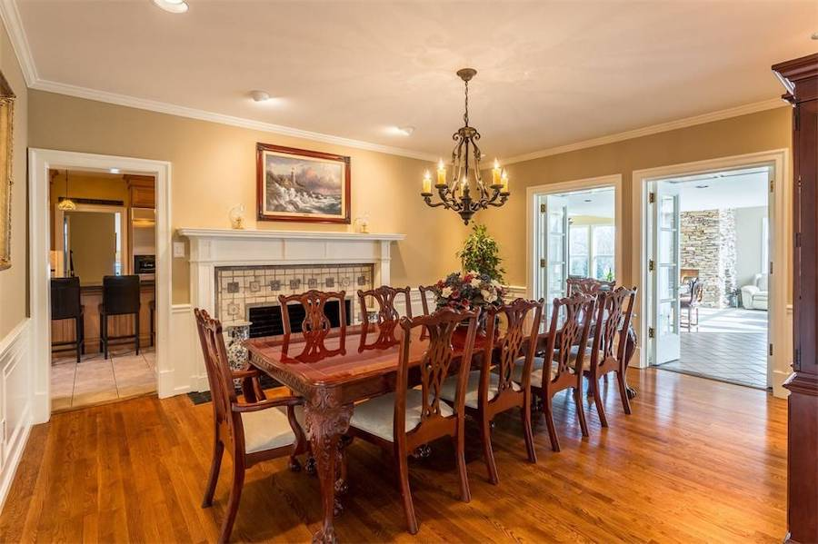house for sale huntingdon valley colonial active lifestyle resort formal dining room