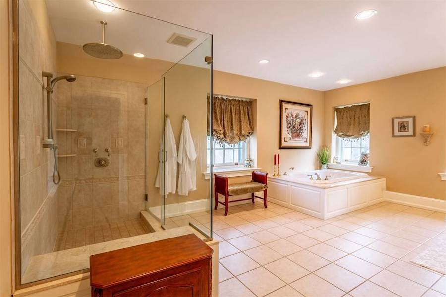 house for sale huntingdon valley colonial active lifestyle resort master bathroom