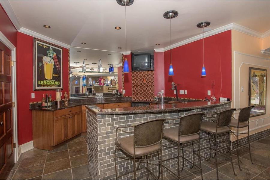 house for sale malvern hilltop chateau basement bar
