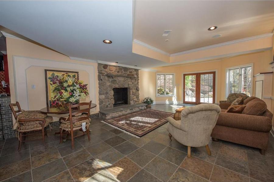 house for sale malvern hilltop chateau rec room