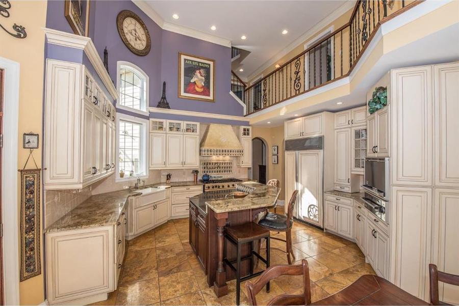 house for sale malvern hilltop chateau kitchen