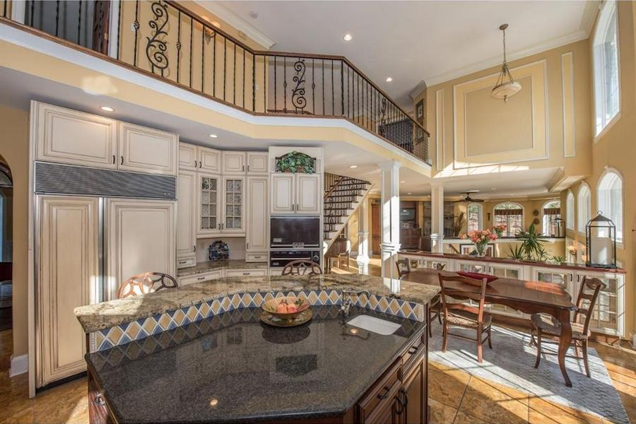house for sale malvern hilltop chateau main living area