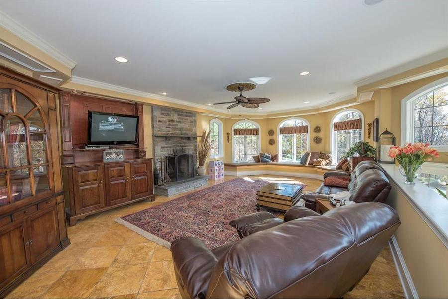 house for sale malvern hilltop chateau living room