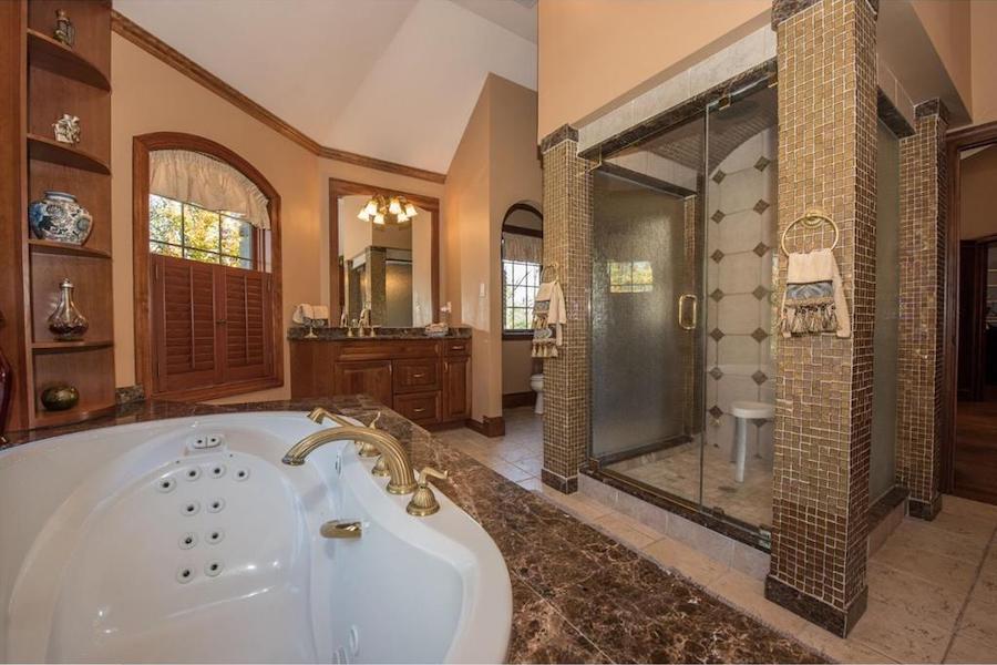 house for sale malvern hilltop chateau master bathroom