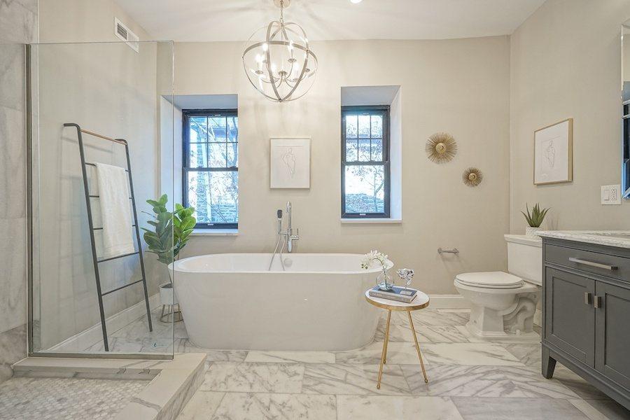 house for sale mt airy rebuilt craftsman master bathroom