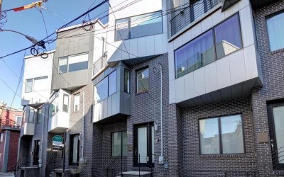 house for sale northern liberties modern rowhouse exterior front