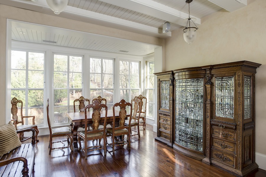 house for sale roxborough expanded italianate dining room